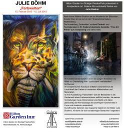 14-2-2015 Exhibition Farbwelten