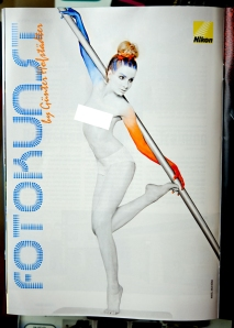 Günter Hofstädter, Julie as model and digital editor