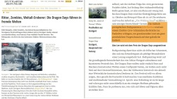 DragonDays Promo Stuttgarter Zeitung Okt2016
