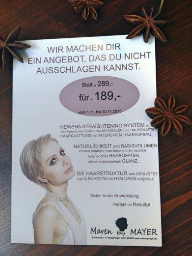 Julie Boehm Model for Maren Kaercher Hair