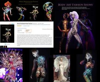 "01.07.2017 Model im Buch ""World Bodypainting Festival"" von Dmitri Moisseev"