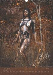 Artists: Scott Fray and Madelyn Greco Model: Brandy Valentine