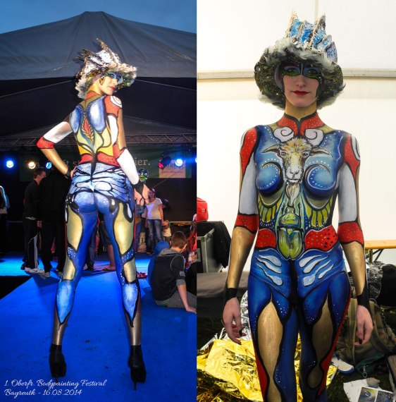 3rd place at the 1rst Oberfr. Bodypainting Festival 2014!