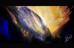komet-aufprallteaser