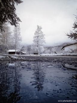 frozen reflection