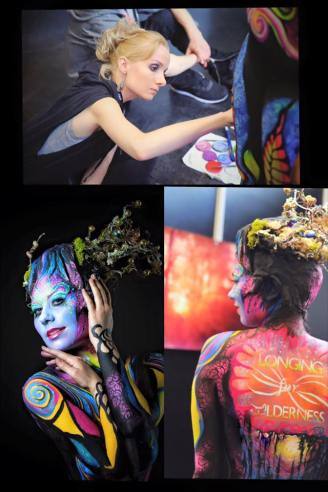 FMX 2016 Longing for Wilderness Bodypainting