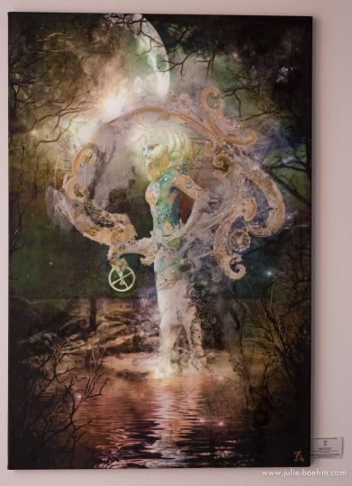 120 x 80 cm / Mixed Media, Acrylics,
