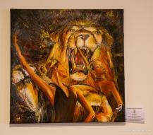 oil / 50 x 50 cm