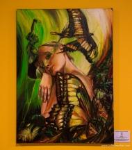 oil / 70 x 50 cm