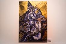 acrylics / 100 x 70 cm