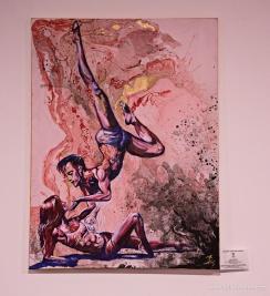 acrylics, mixed media / 80 x 60 cm