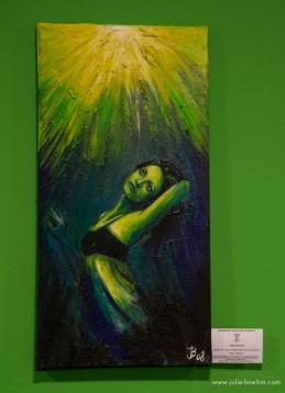 mixed media, acrylics, oi / 60 x 30 cm