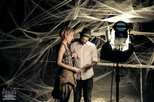 Black Widow Filmset 2015