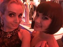 Julie & Alina at the pregala