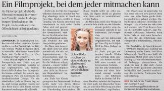 "Ludwigsburger Kreiszeitung ""Paris, you got me"""