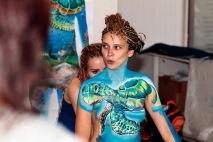 5. Bodypainting Festival in Titisee 2017 Artist: Julie Böhm & Marc Zimmermann Model: Irina Vegel 2. Platz und Sonderpreis Bad Dürrheimer