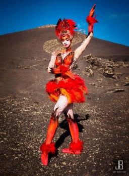 Model: Rebecca C., Foto & Bodypainting Julie Boehm