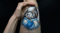 rabbit_legpainting-julieboehmart1