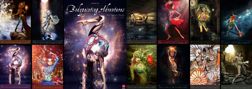 Bodypainting Adventures 2018