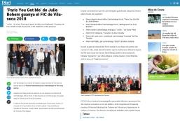 'Paris You Got Me_ de Julie Bohem guanya el FIC de Vila-seca 2018