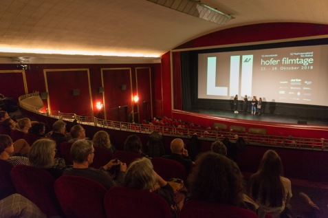 "Eröffnung der Hofer Filmtage - Kurzfilm ""Paris you got me"" © Thomas Neumann"
