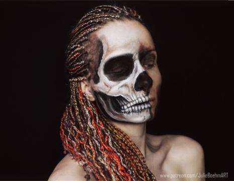 realistic skull