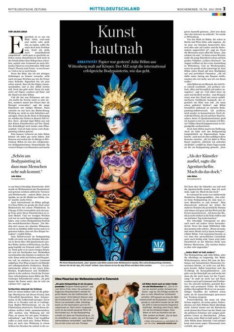Mitteldeutsche Zeitung 2019 b